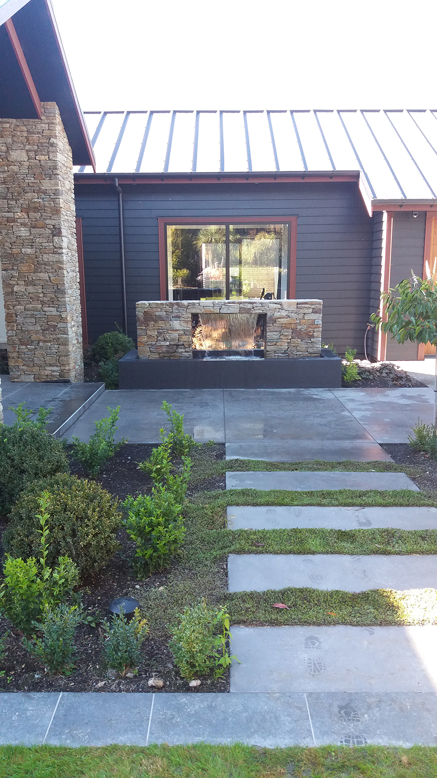 Landscape design construction landscaping canterbury for Landscape construction christchurch